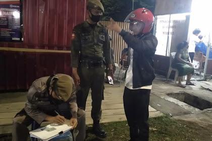 Operasi Masker Di Wajo, 60 Orang Terjaring