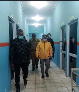 Wakil Bupati Lingga tinjau Pasilitas  di Rumah Sakit Umum Dabok Singkep