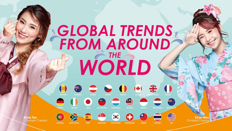 Guardian Kini Menampilkan Trend Kecantikan Terkini Dari Seluruh Dunia