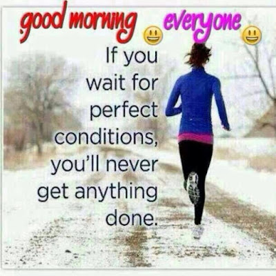 good morning running image with quote for whatsapp