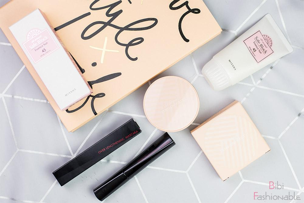 Missha - Pflege & Make-Up aus Korea Flatlay