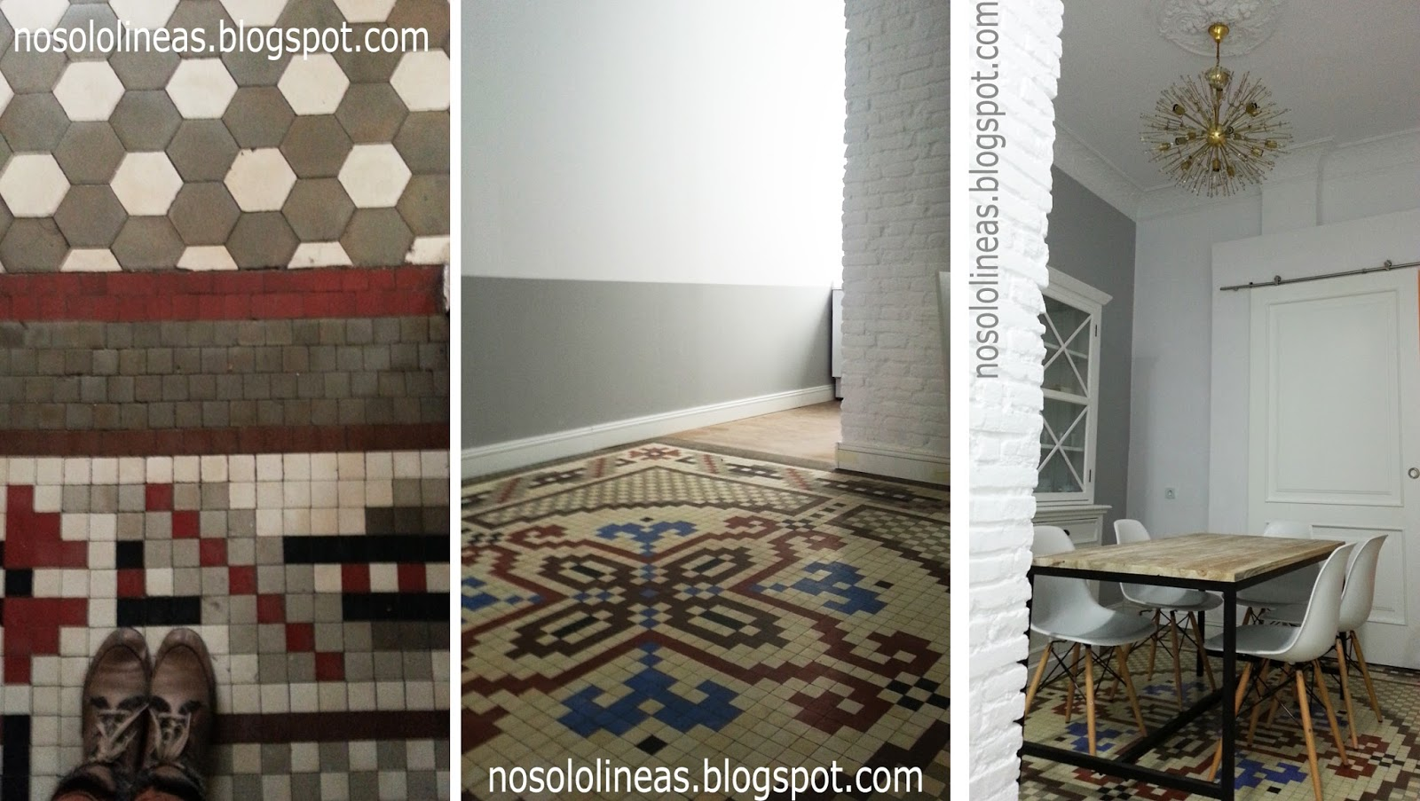 Azulejos hidraulicos de gres good de paredsuelo de gres - Baldosa hidraulica porcelanosa ...