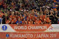 BALONMANO - Mundial femenino 2019 (Kumamoto, Japón): Holanda nueva campeona del mundo con España llevándose una histórica plata