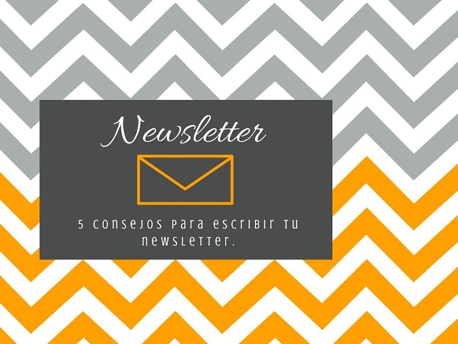 Cómo escribir una newsletter para tu blog (II)