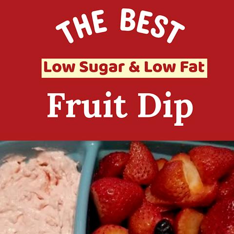 Fruit Lover's Low Fat, Low Sugar Fruit Dip