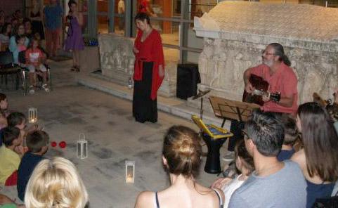 Θεσπρωτία: Η αυγουστιάτικη πανσέληνος με παραμύθια και κιθάρα στην ταράτσα του Αρχαιολογικού Μουσείου Ηγουμενίτσας...