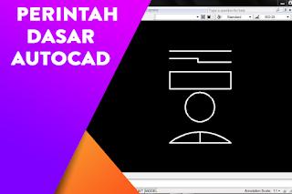 Daftar perintah perintah dasar yang sering digunakan di dalam AutoCAD