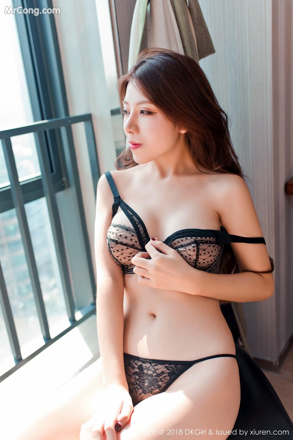 Image DKGirl-Vol.089-Bing-Bing-Er-MrCong.com-009 in post DKGirl Vol.089: Người mẫu Bing Bing Er (冰冰儿) (53 ảnh)