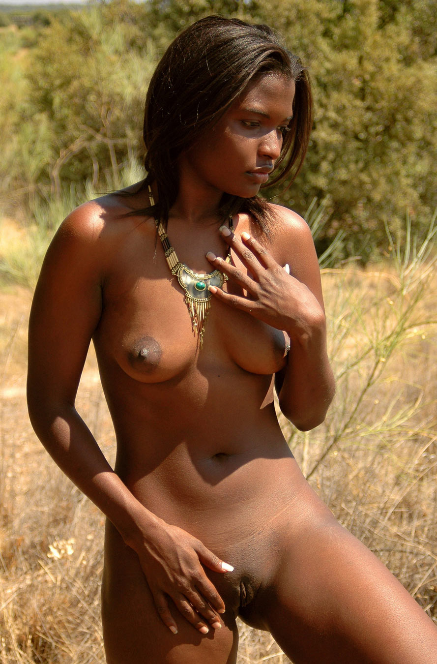 Girls tiny native african nude
