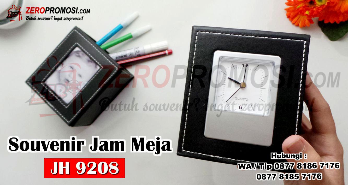 Souvenir Jam Meja Promosi Perusahaan JAM 9208, Jam Meja JH 9208 Multifungsi, Souvenir Jam Meja Pen Holder kode JH 9208, Jam Meja JH 9208 Promosi Untuk Souvenir