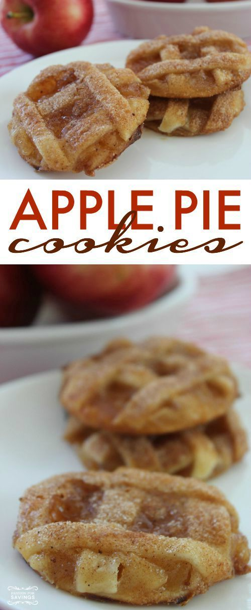 apple pie cookie recipe!