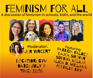 nerdcamp, nerdy book club, jen vincent, feminism, feminism for all, panel