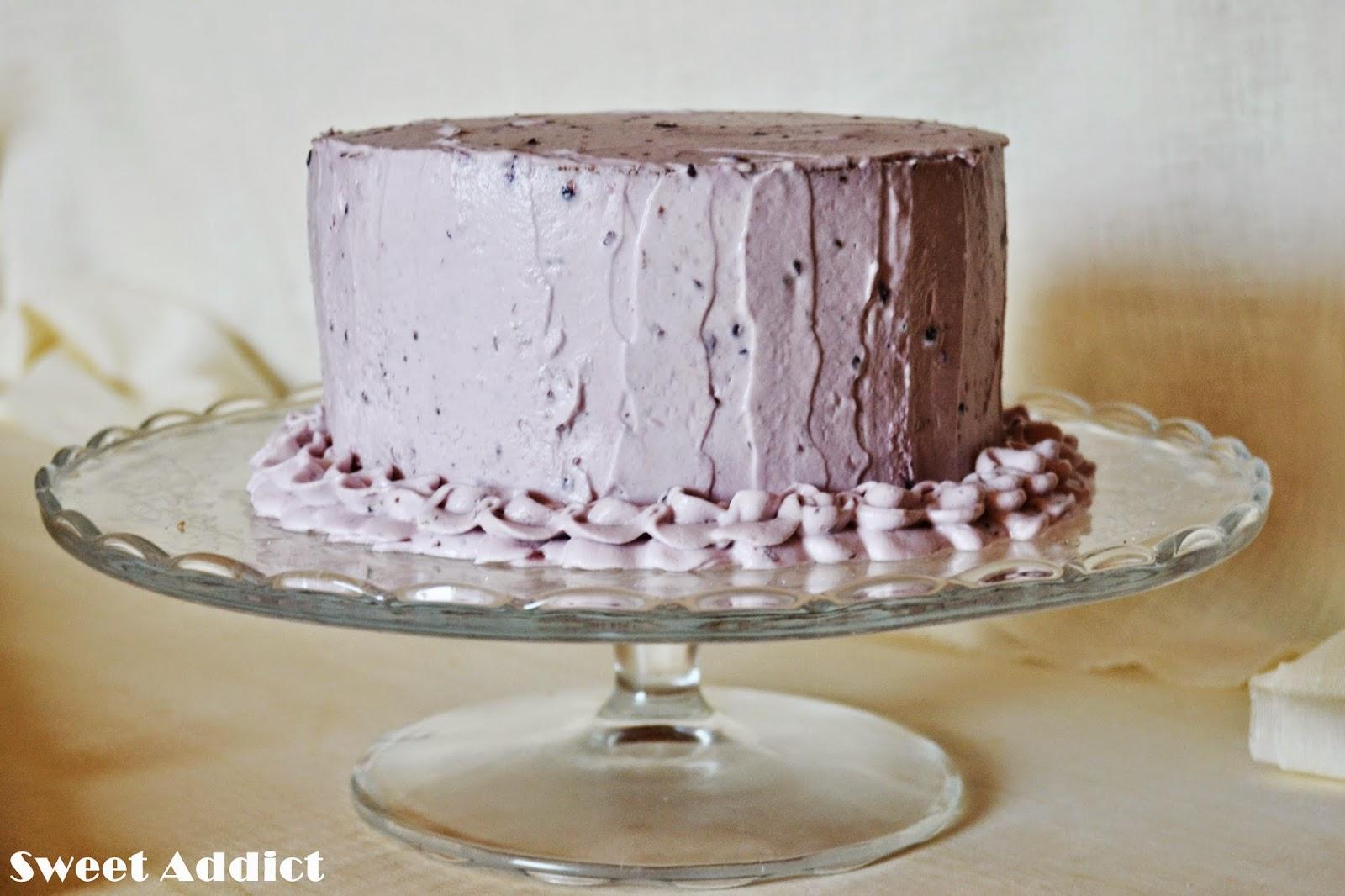 Layer cake de moras