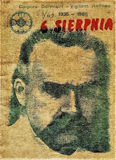 6 Sierpnia - pismo marszu szlakiem Kadrówki 1985