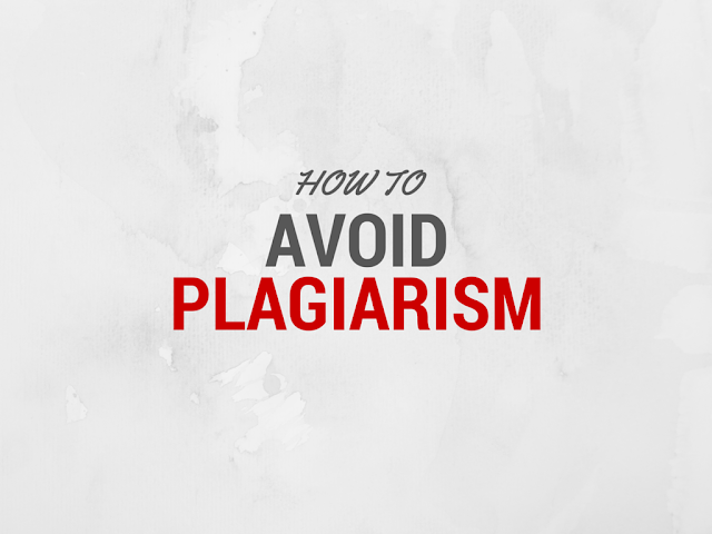 Understanding Plagiarism and avoiding using these tips