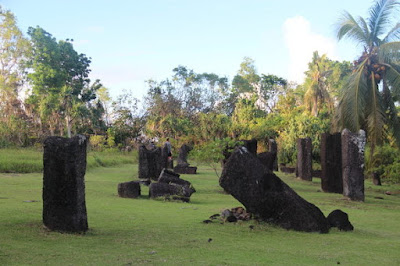palau monolith; pacific island cultures