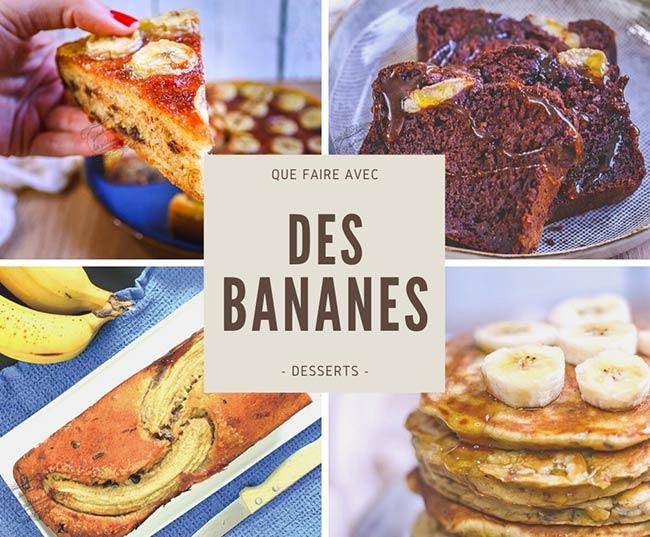 recette bananes