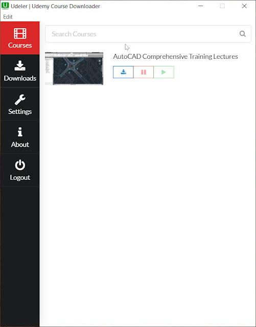 Udemy Course Downloader Software