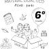 MATERIAL DIDÁCTICO (Abril-Junio) 6° PRIMARIA CICLO ESCOLAR 2018-2019.