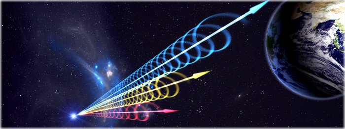 sinais estranhos vindos do espaço profundo