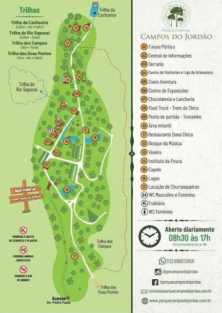 O que ver e fazer em Campos do Jordão?   Horto Florestal ou Parque Estadual Campos do Jordão