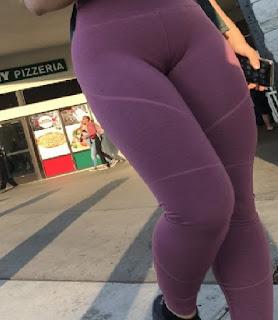 Hermosa mujer pants entallados cuerpo delicioso