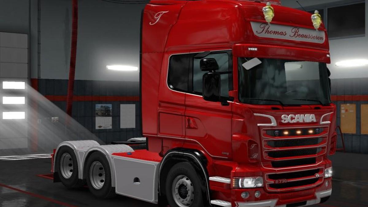 Scania RJL Thomas Beausseron skin