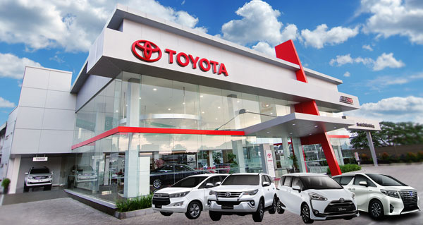 Dealer Toyota Auto 2000 A. Yani Surabaya