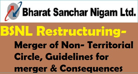 bsnl+organizational+restructuring+merger+of+non+territorial+circle