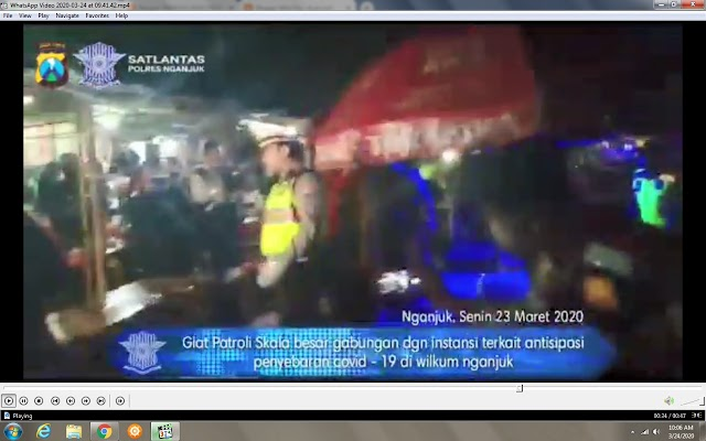 Vidio :Dalam Melawan Corona Inilah yang Dilakukan Oleh Polres Nganjuk