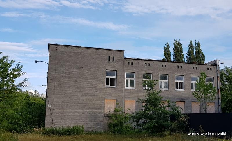 Warszawa Warsaw osiedle oficerów Wojska Polskiego Fort Bema architektura wojskowe  hotel Legia