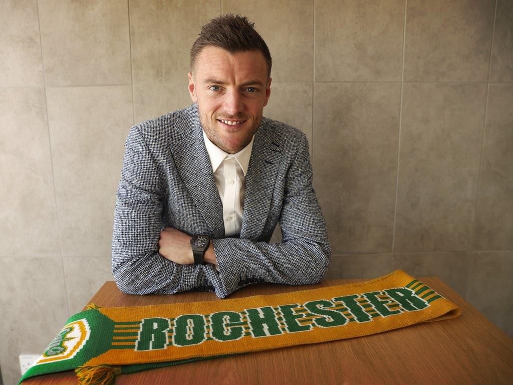 Jamie Vardy now co-owns American soccer club Rochester Rhinos