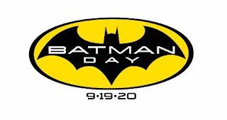 Batman logo black on yellow