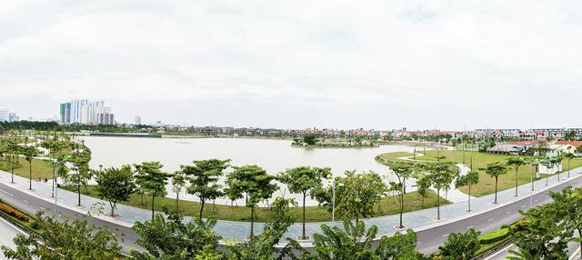 Hồ điều hòa rộng 15 ha ngay cạnh An Bình City