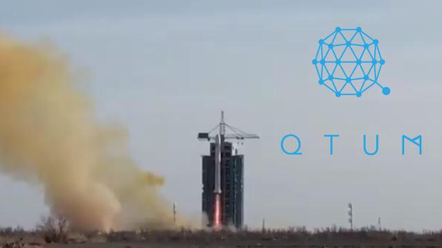 QTUM Luncurkan Satelit Pertama Di Dunia