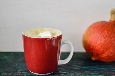 Leberkassemmel und mehr: Pumpkin White Hot Chocolate