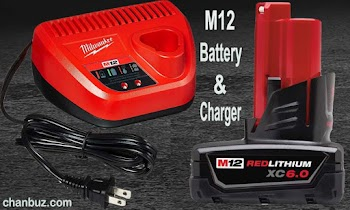 Milwaukee M12 Battery Charger: Review #1 Battery & Charger