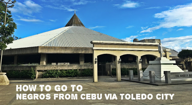 How to go to Negros from Cebu via Toledo City