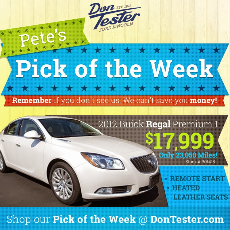 Don Tester Ford Lincoln: Used Buick