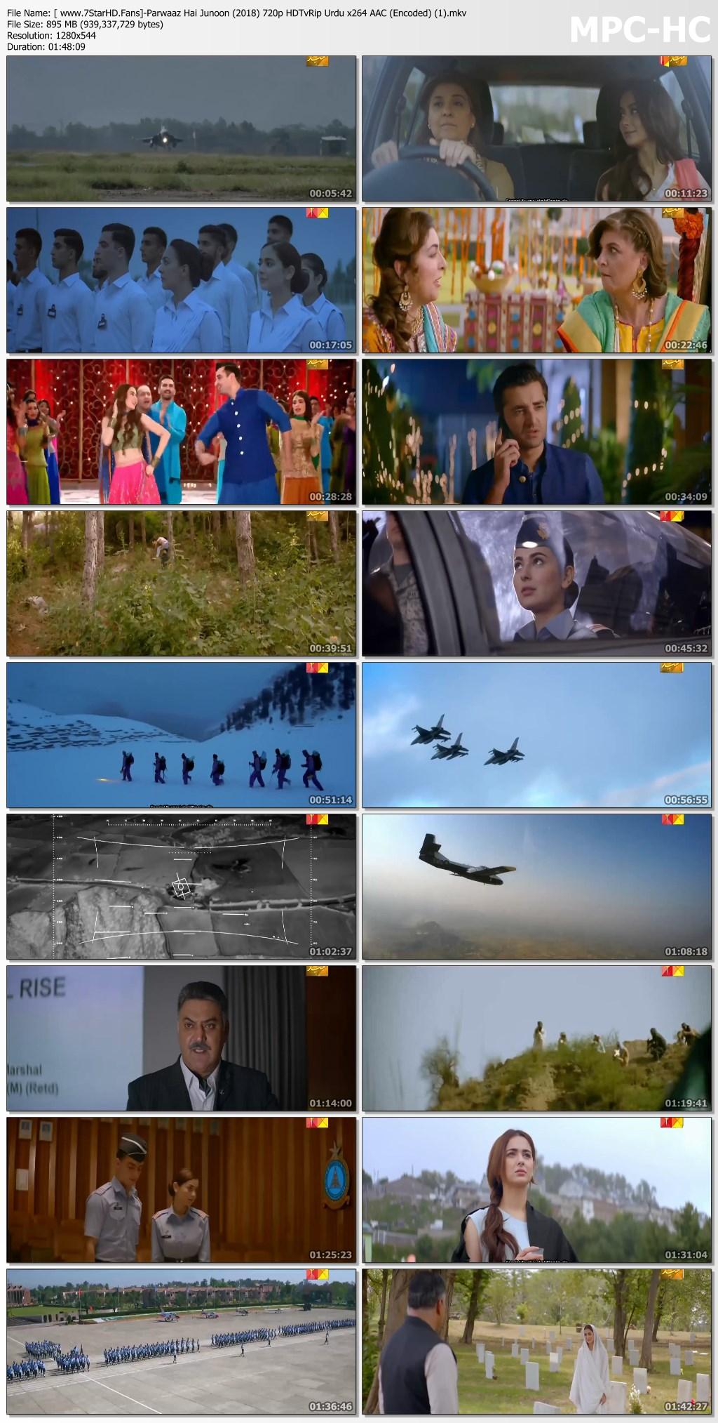 Parwaaz Hai Junoon (2018) Urdu/Hindi HDTV 480p & 720p   GDRive 1