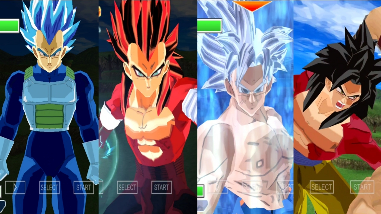 Super Dragon Ball Heroes Goku and Vegeta Limit Breaker