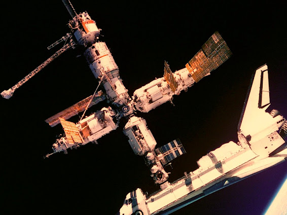 How the space station is kept free from Germs or sterile?