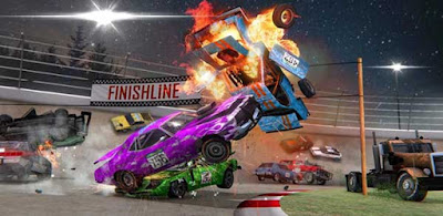 Demolition Derby 3 Apk + Mod much money for android