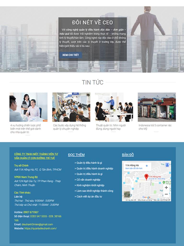 Dự án quản lý điều hành doanh nhân Nguyễn Huy Phương - Ảnh 1
