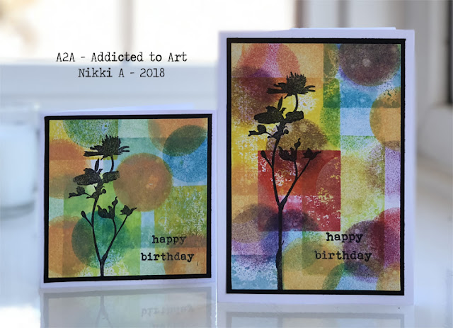 Tim Holtz Wildflowers and Distress Oxides and Inks