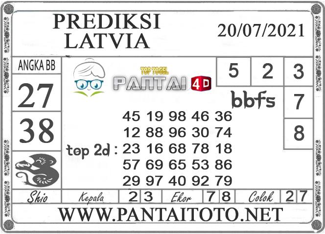 PREDIKSI TOGEL LATVIA PANTAI4D 20 JULI 2021