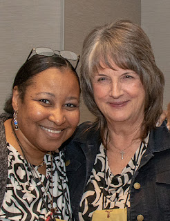 Carolyn Townes and Kathleen Carsten