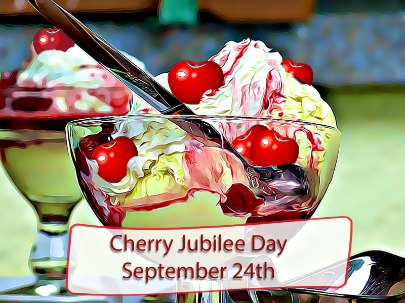 National Cherries Jubilee Day Wishes Images download