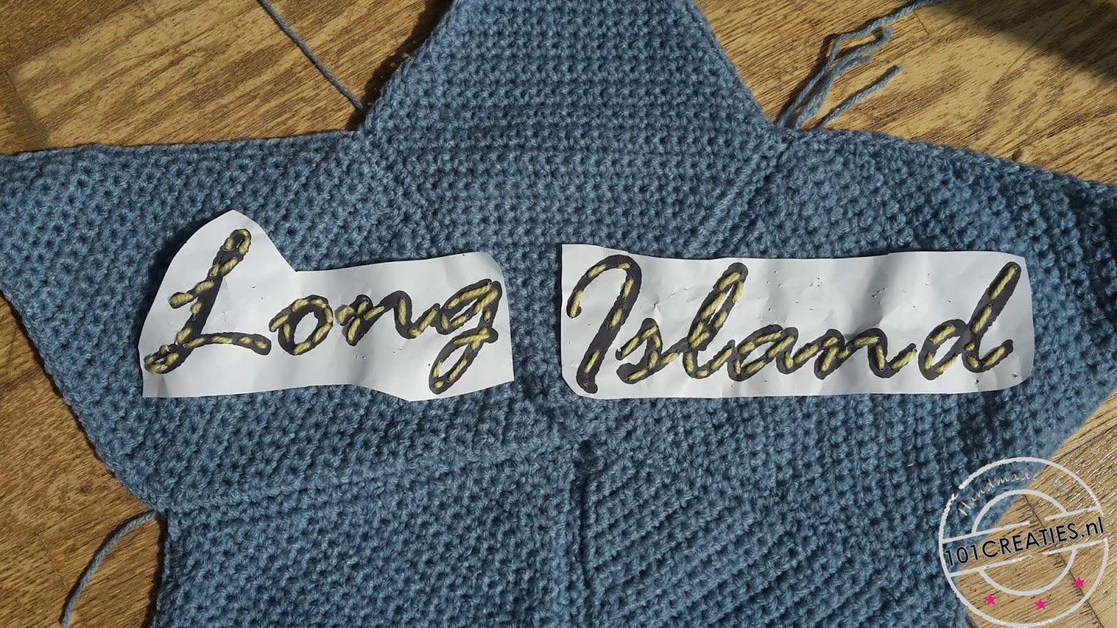 Haken Kussen Ster Long Island 101 Creaties