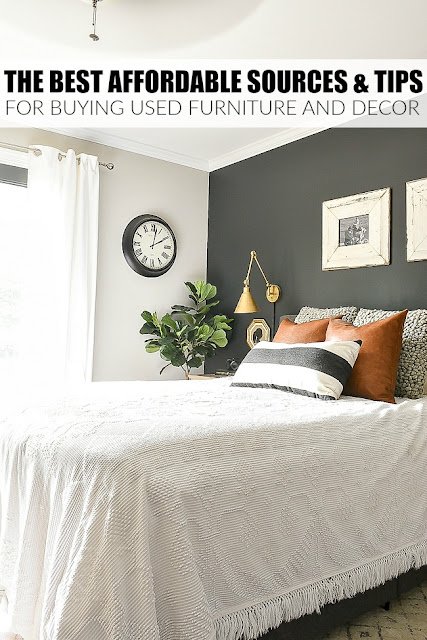 The best affordable tips for buying used furniture and decor